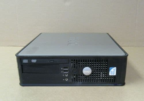 Dell Optiplex 760 Pentium Dual Core E5300 2.60GHz 2GB 80GB Windows 10 Pro SFF PC